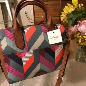 Fossil Fiona Satchel Bag